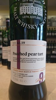 SMWS 63.39 - Poached pear tart