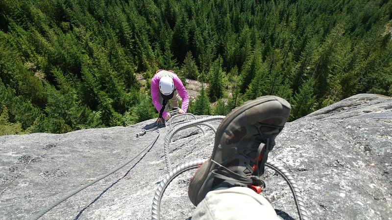 Deanna Climbing Up