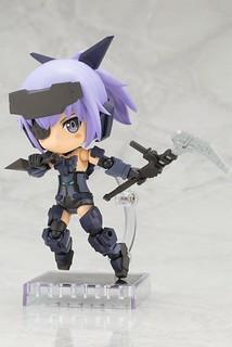 熱愛日本文化的骨裝機娘!Cu-poche 口袋人《Frame Arms Girl 骨裝機娘》迅雷