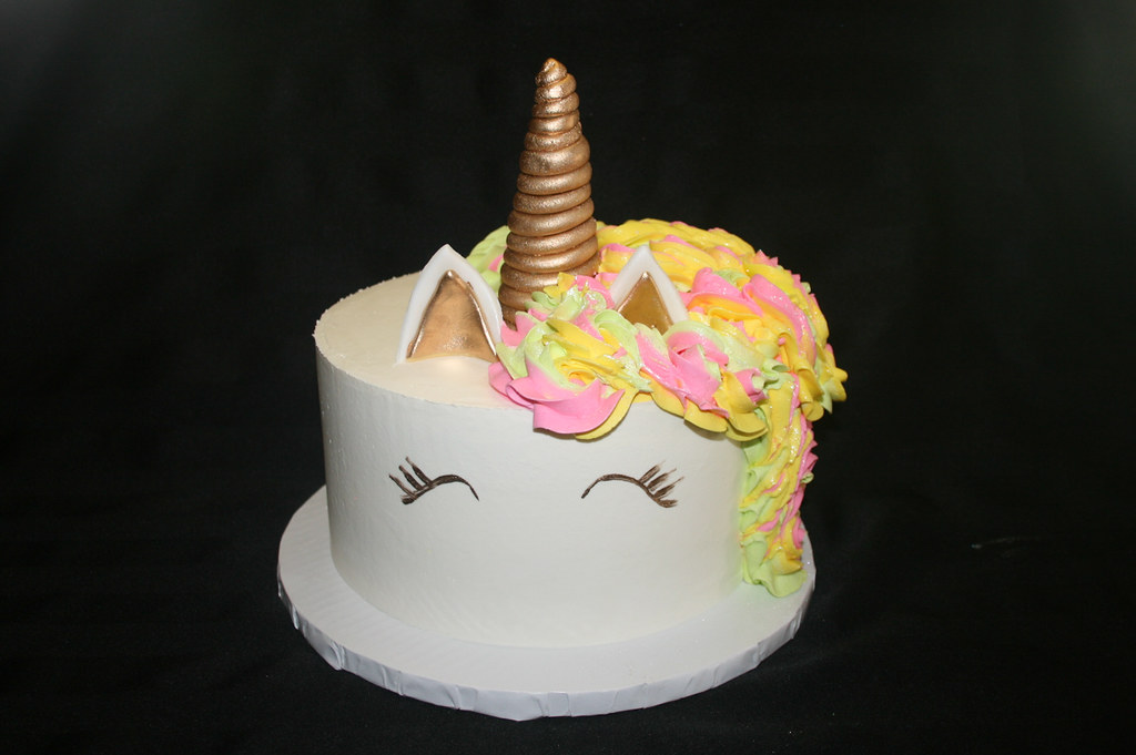 Unicorn 2nd Birthday Cake