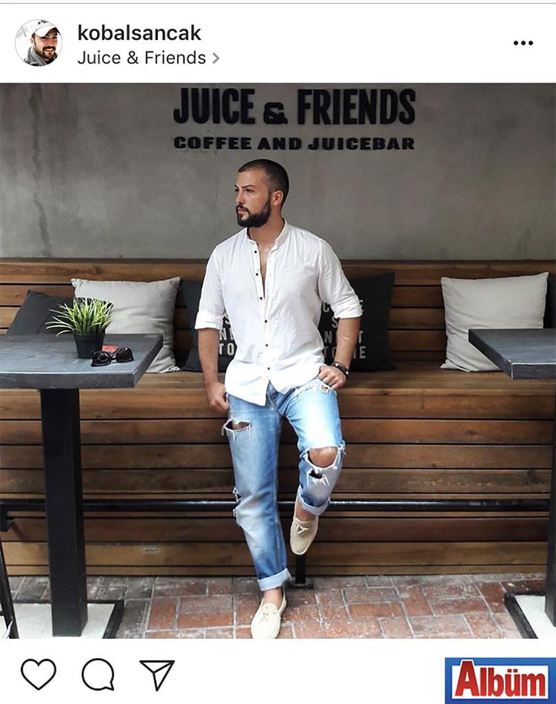Juice and Friends'ten bu fotoğrafı paylaşan Sancak Kobal, beğeni yağmuruna tutuldu.