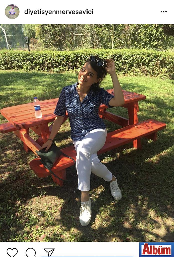 Diyetisyen Merve Savıcı, bayram tatilini geçirdiği Delta Alara Otel'den bu fotoğrafı paylaştı.