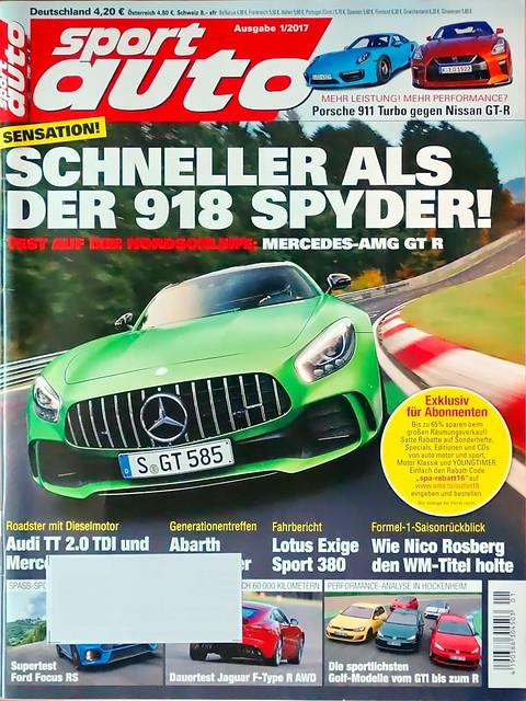 sport auto - 2017-01 - cover