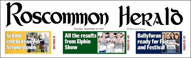 Masthead Roscommon Herald