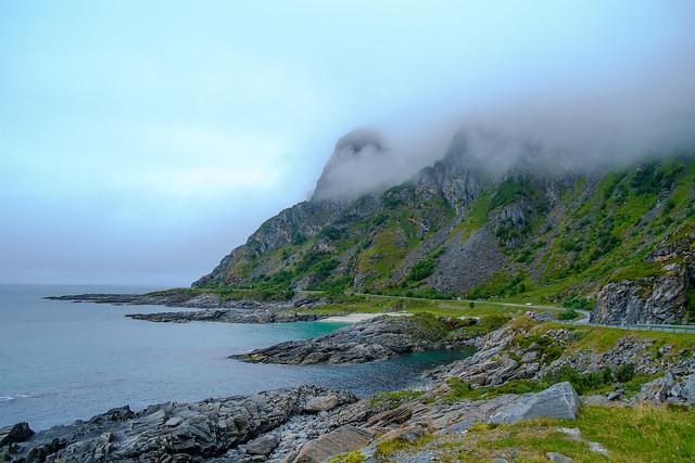 Fahrt nach Tromsø August 2017