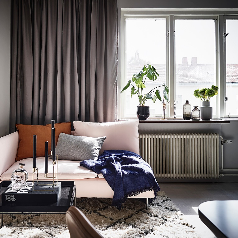 Swedish Minimalist Studio Apartment