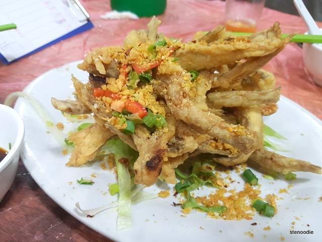 Deep-Fried Bombay Duck Fish with Peppered Salt
