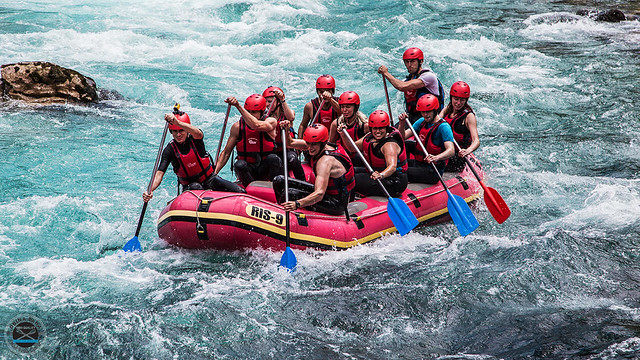 Feel and taste the best rafting tour on Neretva