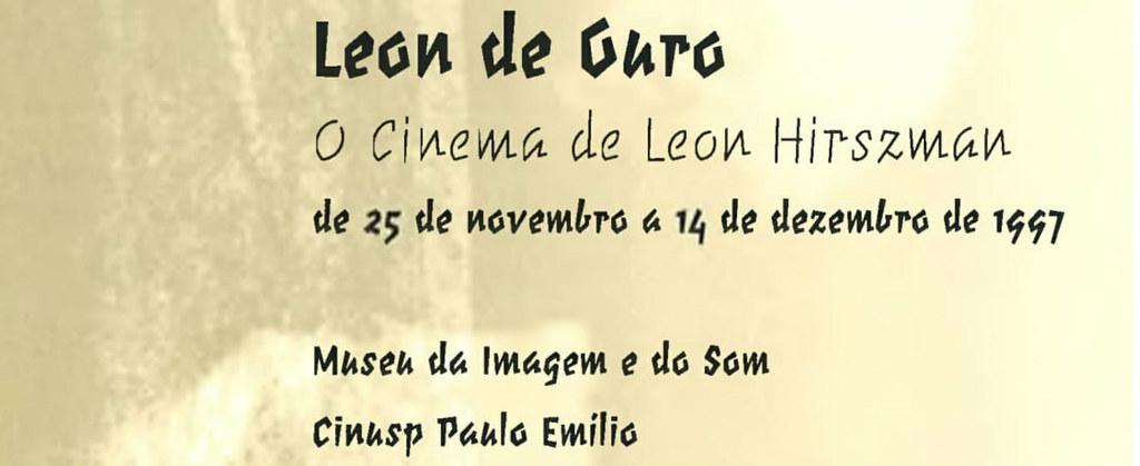 Leon de Ouro - O Cinema de Leon Hirszman