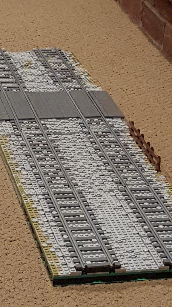 LEGO Track Ballast Example