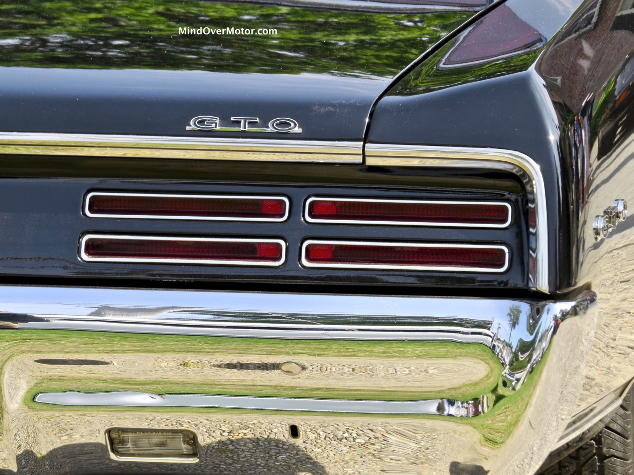 1967 Pontiac GTO Rear Badge