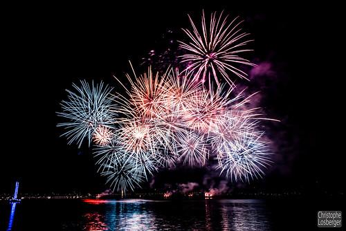 Feux d'Artifice Fêtes de Genève 2017