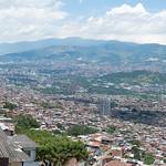 Medellín desde el cerro Santo Domingo
