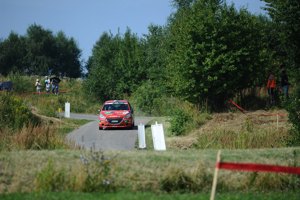 36 KUPEC Karel (CZE) KRAJCA Ondrej (CZE) Peugeot 208 R2 action during the 2017 European Rally Championship Rally Rzeszowski in Poland from August 4 to 6 - Photo Wilfried Marcon / DPPI