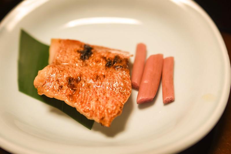 赤魚の粉山椒焼き