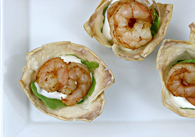 Chili Lime Shrimp Cups Top Close