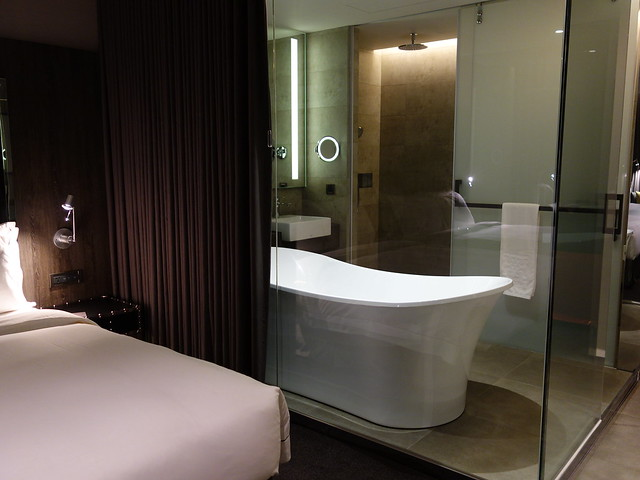 外面有拉簾可以完整關上@高雄喜達絲飯店