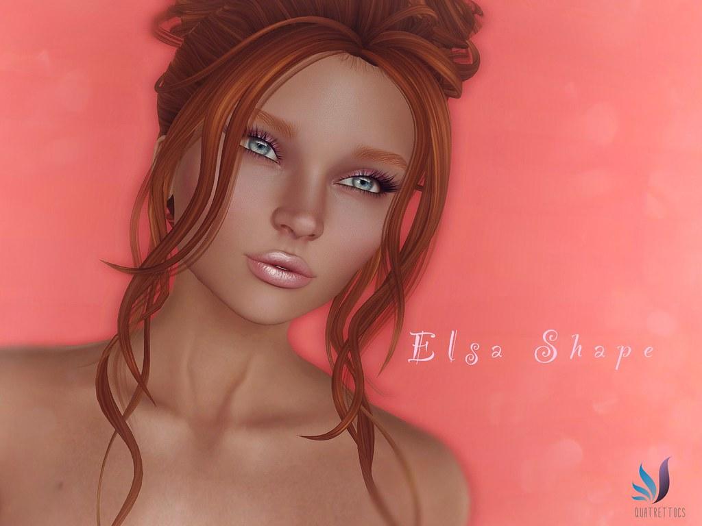 Elsa Shape for Simone Bento Head (Lelutka) - SecondLifeHub.com