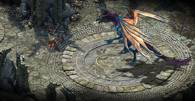 Pillars of Eternity - Dragon