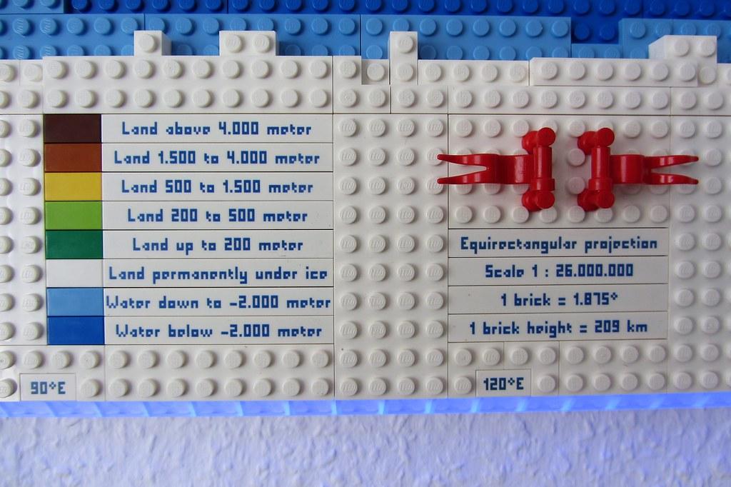 dirks LEGO world map 21 decoration legend