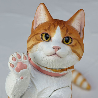 將喵喵的可愛之處完全展現!❤ 海洋堂 Sofubi Toy Box 016A 「貓 / 曼赤肯貓 (ネコ マンチカン)」
