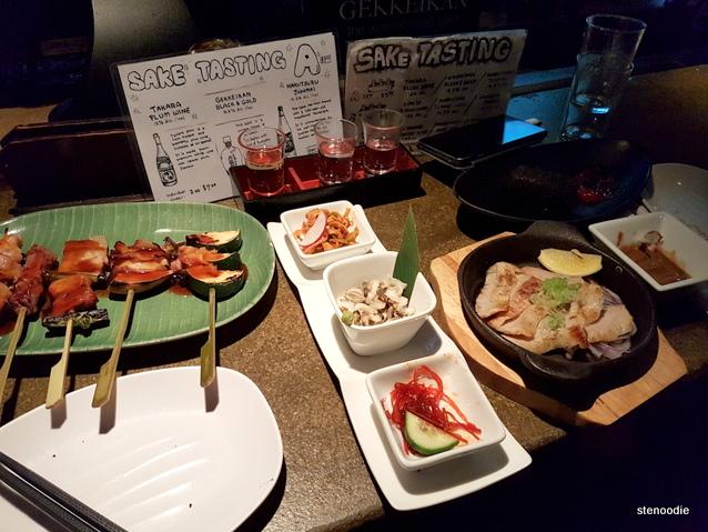 Don Don Izakaya food