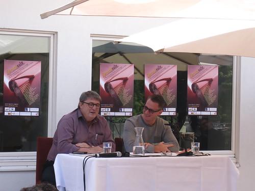 Martin Kolozs und Elias Schneitter