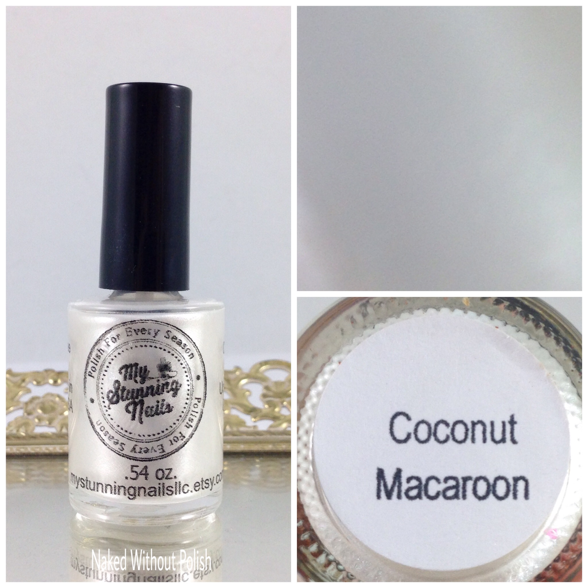 My-Stunning-Nails-Coconut-Macaroon-1