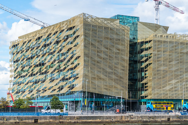 CENTRAL BANK OF IRELAND NEW HEADQUARTERS [NORTH WALL QUAY]-1324673
