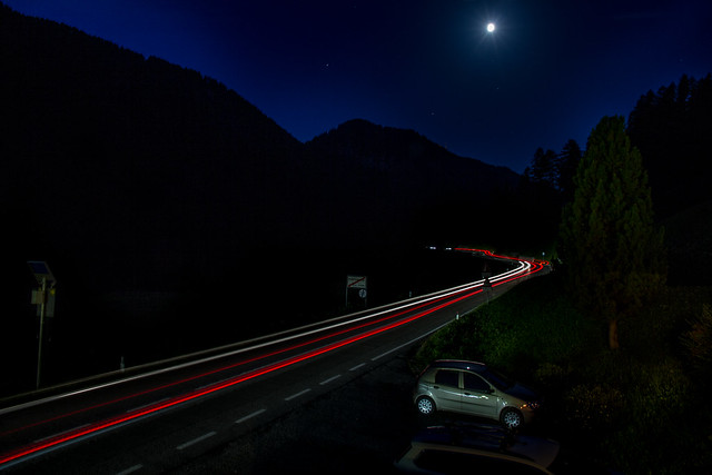 Light trail, Canon EOS 7D, Canon EF-S 15-85mm f/3.5-5.6 IS USM