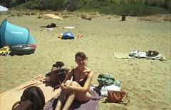 In una spiaggia