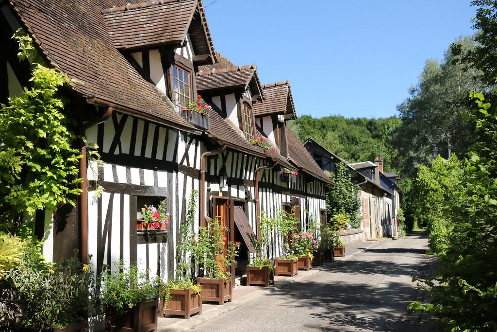 Lyons-la-Forêt half-timbering