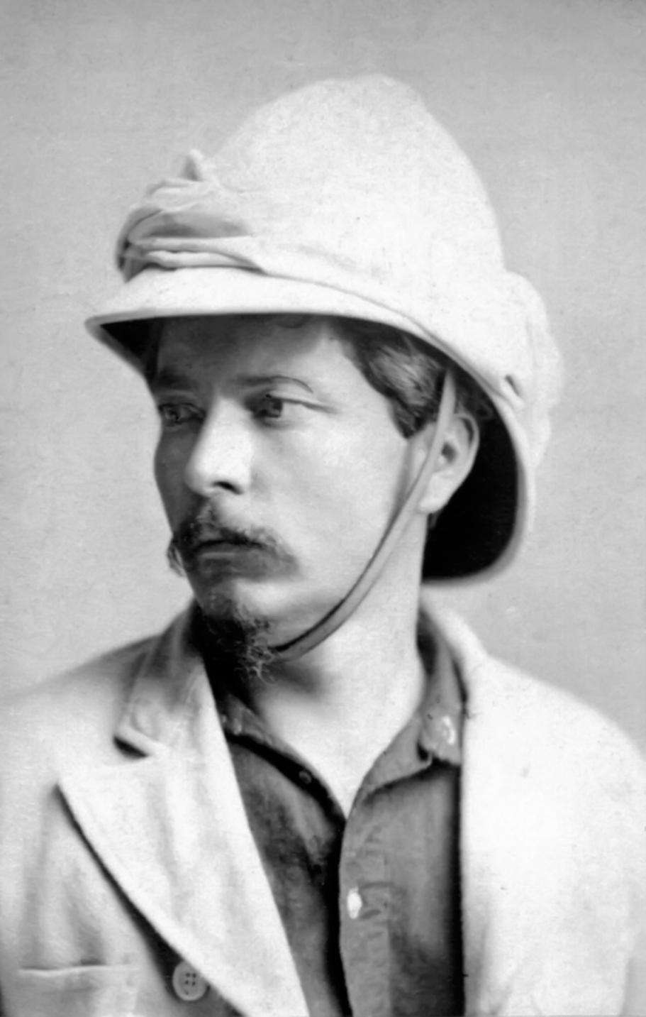 Henry Morton Stanley, whose exploration of the Congo region at Leopold's invitation led to the establishment of the Congo Free State under personal sovereignty