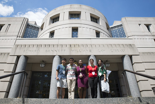 LAWA Students Visit Georgetown Law