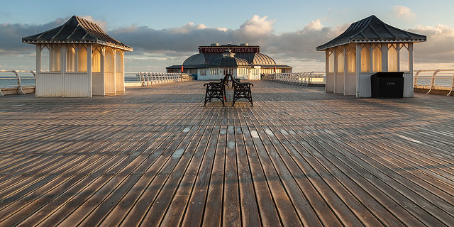 Early Morning At Cromer Pier Norfolk.