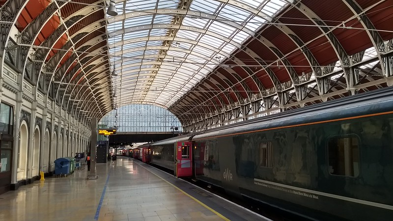 Night Riviera train at Paddington Station