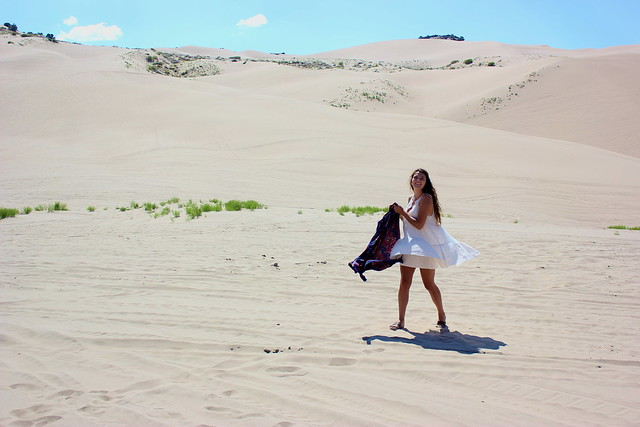 Ivy Sand Dunes, Canon EOS REBEL T2I, Canon EF-S 18-55mm f/3.5-5.6 IS II