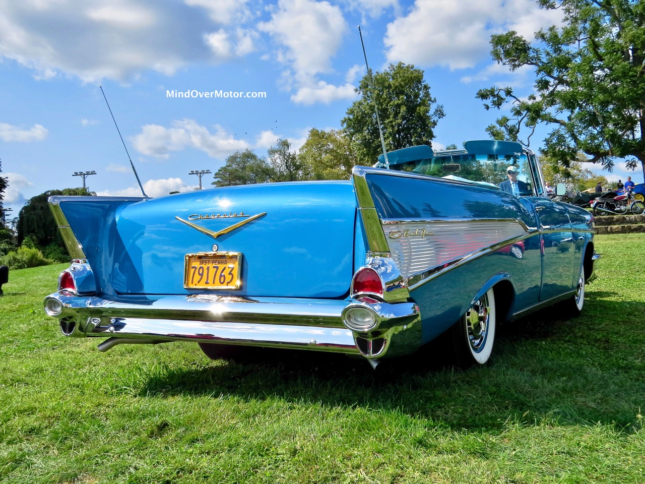 1957 Chevrolet Bel Air Convertible Rear