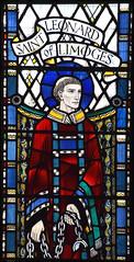 St Leonard of Limoges (Joseph Nuttgens, 1946)