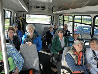 Birders On The Bus by Penny O'Connor