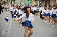 Ecos del Desfile Cívico por los 155 años de parroquialización de Canuto