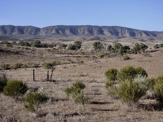 Chace Range, Flinders Ranges, Panasonic DMC-FZ70