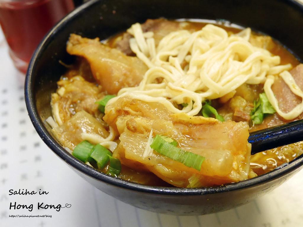 香港上環必吃排隊美食九記牛腩 (12)