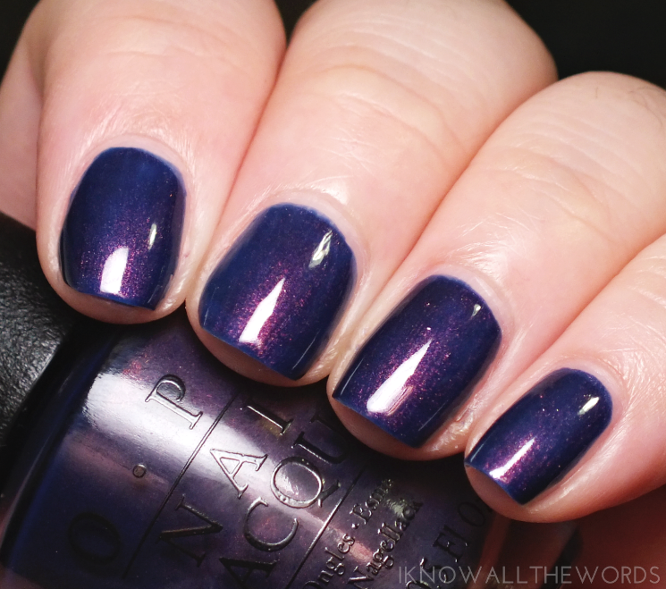 OPI Iceland Collection turn on the northern lights!