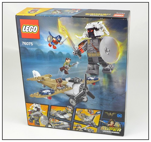 LEGO DC Super Heroes 76075 Wonder Woman Warrior Battle 02