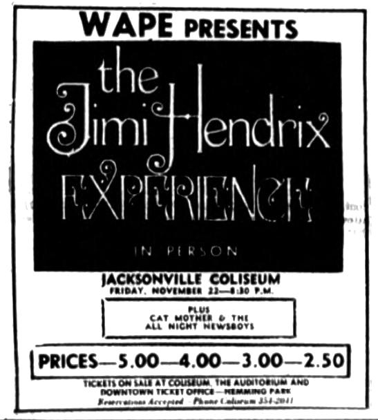Jacksonville, Florida 1968-11-23