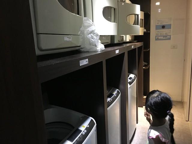 洗烘衣機@捷絲旅高雄中正館HAPE主題家庭遊戲房
