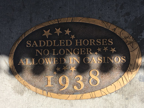 Saddled Horses No Longer Allowed in Casinos