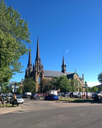 St. Dunstan's Basilica (1) #pei #princeedwardisland #charlottetown #stdunstansbasilica #churches #greatgeorgestreet #latergram