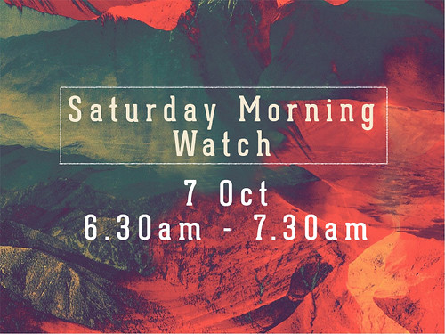 sat morning watch oct